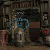 Toon Robot Στοκ Φωτογραφία