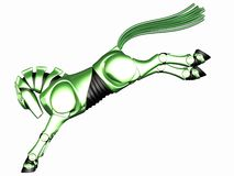 Toon Robot Horse Stock Images