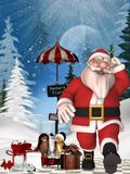 Toon Santa Royalty Free Stock Image