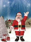 Toon Santa Royalty Free Stock Photos