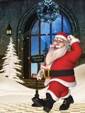 Toon Santa Stock Photo