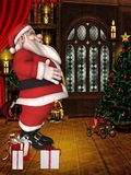 Toon Santa Stock Photography