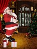 Toon Santa Stock Photography