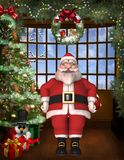 Toon Santa Royalty Free Stock Images