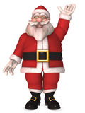 Toon Santa Claus Royalty Free Stock Photos