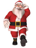 Toon Santa Claus Stock Photos