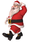 Toon Santa Claus Royalty Free Stock Photography