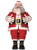 Toon Santa Claus Stock Photo