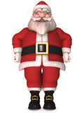 Toon Santa Claus Royalty Free Stock Image