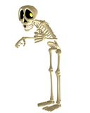 Toon skeleton. 3D render of a cute toon skeleton Stock Photography