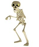 Toon skeleton 2 Royalty Free Stock Images