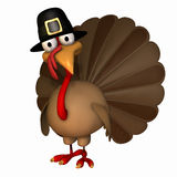 Toon Thanksgiving Turkije 4 Stock Foto's