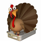 Toon Turkey Roaster Royalty Free Stock Photography