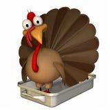 Toon Turkey Roaster royalty free illustration