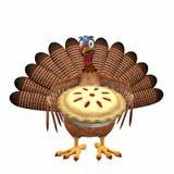 Toon Turquia - torta da cereja ilustração royalty free