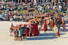 Toon van de Verjaardag van Rome stock afbeeldingen