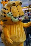 Toon Walk–Mascots Parade-Garfield-Nuremberg 2016. Toon Walk –Comic Parade during International Toy Fair -Nuremberg,Germany, fur cat Garfield Stock Images