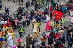 Toon Walk–Mascots Parade-Nuremberg 2016 Stock Images