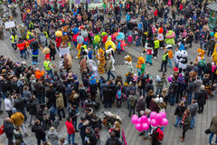"Toon Walkâ €""maskot Ståta-Nuremberg 2016 Arkivbilder"