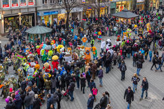 Toon Walk†'maskotki Nuremberg 2016 Obraz Stock