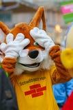 Toon Walk †«κωμική παρέλαση-Νυρεμβέργη 2016 Στοκ Εικόνες