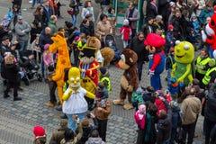 "Toon Walk †""komiska Ståta-Nuremberg 2016 Royaltyfri Bild"