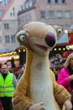 Toon Walk–Mascots Parade-Sid-Nuremberg 2016 Stock Images