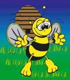 Toonimal Bee-Vector Royalty Free Stock Photos