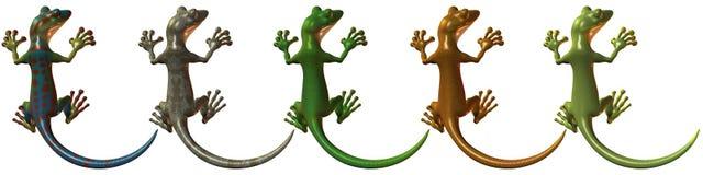 Toonimal Gecko Royalty Free Stock Photo
