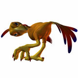 Toonimal Hatchling Phoenix Stock Photo