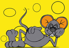Toonimal Mouse-Vector Stock Photography