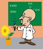 Toonimal Scientist Stock Photo