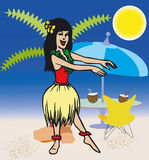 Toonimal Woman-Vector Royalty Free Stock Images