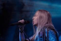 Toont de Arkona Speciale 15de Verjaardag levend bij Insubria-Festival Royalty-vrije Stock Foto's