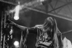 Toont de Arkona Speciale 15de Verjaardag levend bij Insubria-Festival Stock Foto
