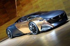 Het Onyx van Peugeot Stock Fotografie