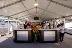 Toont de Internationale Boot van Miami Royalty-vrije Stock Foto's