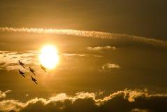 Toont de Internationale Lucht van Boekarest - Baltische Bijen royalty-vrije stock foto's