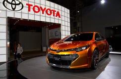 2014 toont het Concept van Toyota Corolla Furia bij Auto NY royalty-vrije stock foto