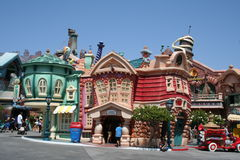 Toontown de Disneyland Images libres de droits