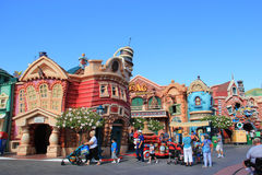 Toontown de Micket chez Disneyland Photo stock