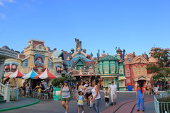 Toontown de Micket chez Disneyland Photos stock