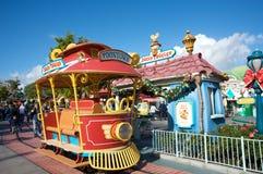 Toontown de Mickey en Disneylandya Imagen de archivo libre de regalías