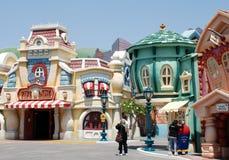 Toontown del Mickey in Disneyland Fotografia Stock Libera da Diritti