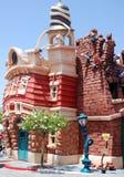 Toontown del Mickey in Disneyland Fotografia Stock