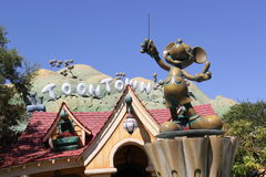 Toontown, Disneyland stock image
