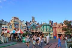 Toontown van Micket in Disneyland Stock Foto's