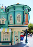 Toontown van Mickey in Disneyland Californië Stock Afbeeldingen
