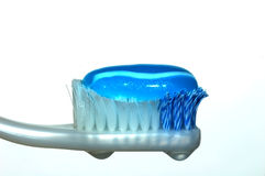 Tootbrush. Loded with tootpaste, ready to brush Royalty Free Stock Image