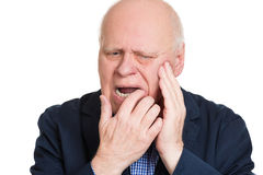 Tooth ache Stock Photo